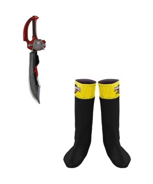 Power Rangers Boot cover Sword Boys Accessory Kit