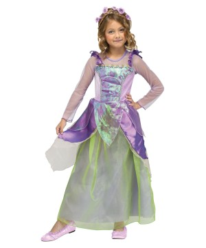 Pretty Fairytale Princess Lavender Toddler/ Girls Costume