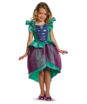 princess ariel girls costume