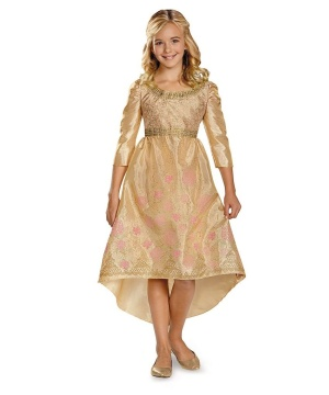 Maleficent Princess Aurora Coronation Gown Classic Girls Costume