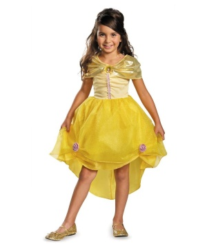 Princess Belle Economy Girls Costume