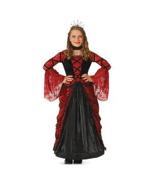 Princess Dracula Candy Pockets Girls Costume deluxe