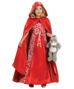 Princess Red Riding Hood Girls Costume