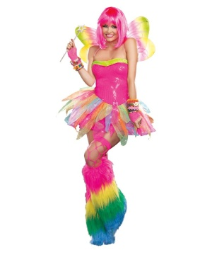 Psychedelic Fairy Womens Costume