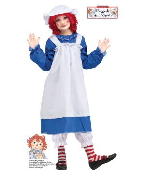 Raggedy Ann Girls Costume