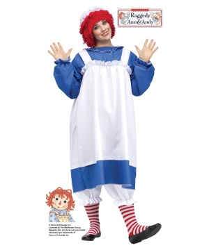 Raggedy Ann Women plus size Costume