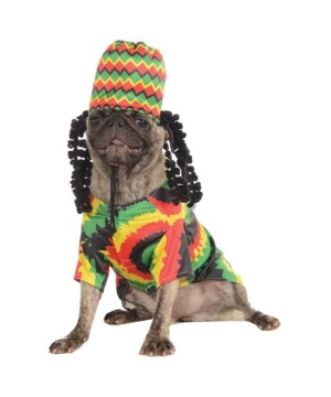 Rasta Pet Costume
