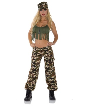 Ready for Duty Womens Costume