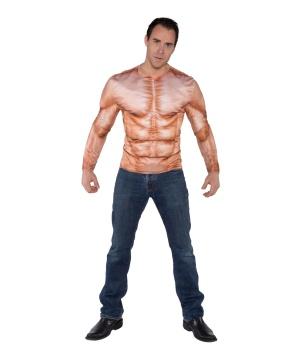 Real Padded Mens Muscle Shirt