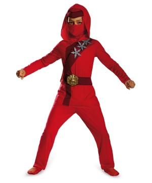 Red Fire Ninja Toddler/ Boys Costume