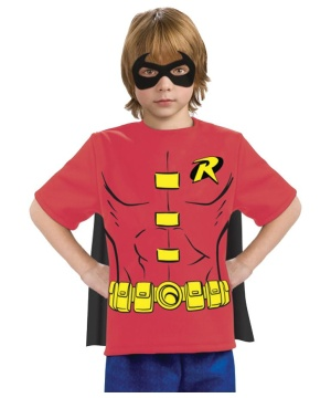 Robin Boys Costume