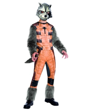 Guardians of the Galaxy Rocket Raccoon Boys Costume