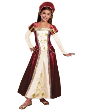 Royal Maiden Girls Costume
