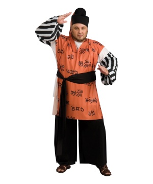 Samurai Warrior Adult plus size Costume