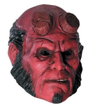 Hellboy 3/4 Vinyl Mask