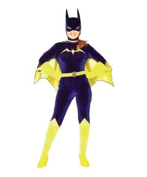 Velvet Batgirl Women Costume