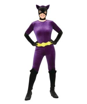 Catwoman Velvet Adult Costume