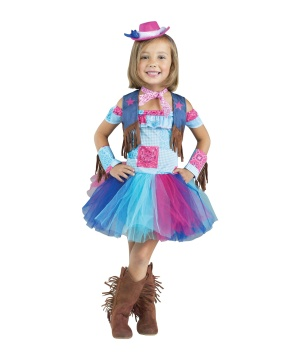 Saddle up Sweetie Girls Cowgirl Costume