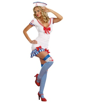 Sailor Pin-up Women's Costume deluxe