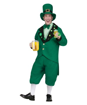 Saint Patricks Pub Crawl Leprechaun Mens Costume