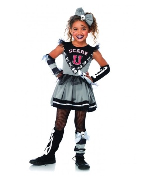 Scare U Cheerleader Girls Costume