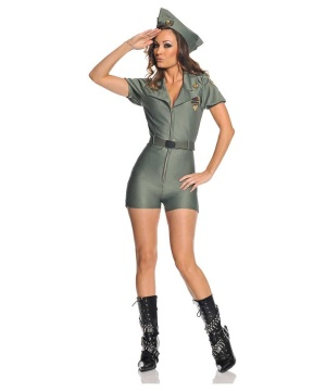 Sexy Womens Military Costume