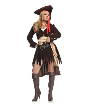 Shipwreck Pirate Womens Costume