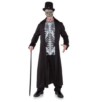 Skull Master Mens Costume