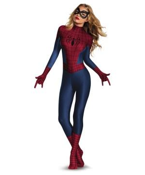 Spider Girl Sassy Bodysuit Womens Costume