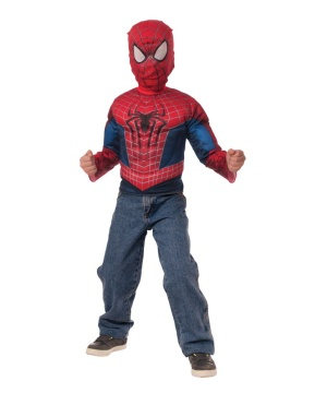 Spider Man Boys Muscle Costume Set