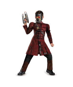 Guardians of the Galaxy Star Lord Muscle Boys Costume