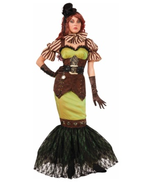Steampunk Siren Womens Costume deluxe