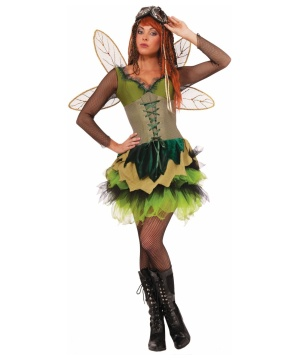 Steampunk Sprocket Pixie Womens Costume deluxe