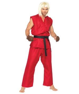 Street Fighter Ken Mens Costume deluxe