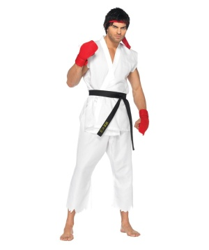 Street Fighter Ryu Mens Costume deluxe