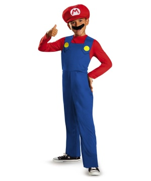 Super Mario Boys Classic Costume