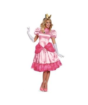 Super Mario Bros Princess Peach Womens Costume plus size
