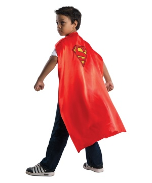 Superman Kids Costume Satin Cape