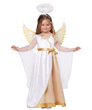 Sweet Little Angel Toddler Girls Costume