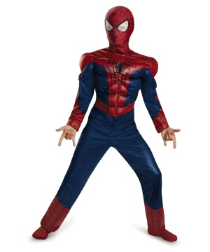 The Amazing Spider Man Movie 2 Muscle Boys Costume