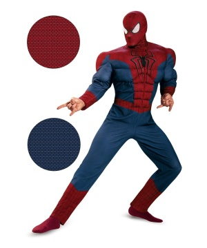 The Amazing Spider Man Movie 2 Mens Muscle Costume