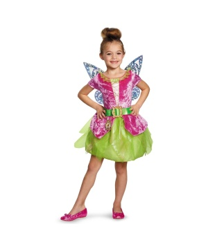 tinker bell fairy pirate girls costume