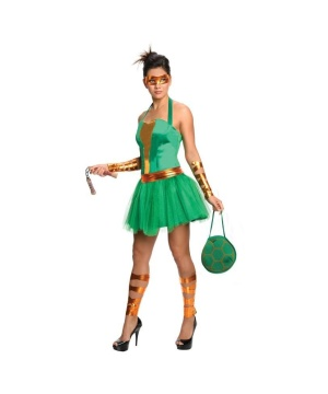 Tmnt Michelangelo Womens Costume Dress
