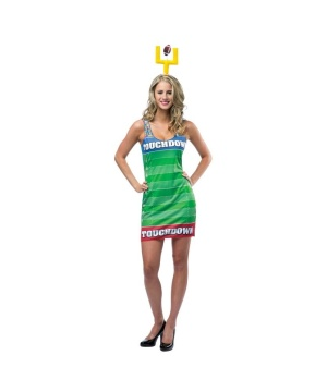 Touchdown Football Tank Womens Dress