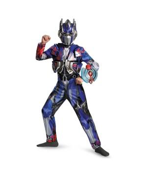 Transformers Age of Extinction Optimus Prime Boys Costume deluxe