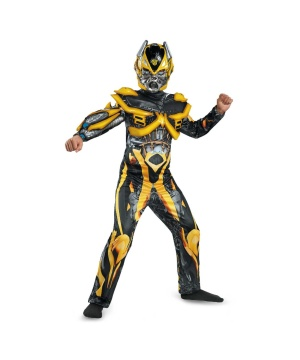 Transformers Age of Extinction Bumblebee Boys Costume deluxe