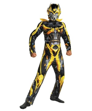 Transformers Bumblebee Boys Muscle Costume