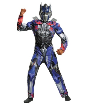 Transformers Optimus Prime Boys Muscle Costume