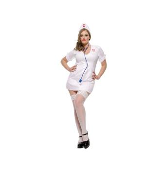 Nurse Sexy plus size Women Costume