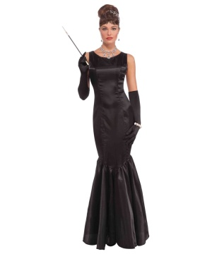 Vintage Hollywood High Society Womens Costume